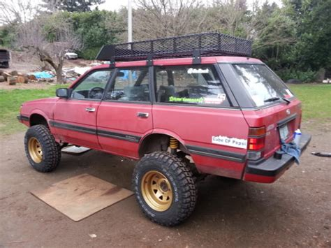 subaru loyale offroad rally build