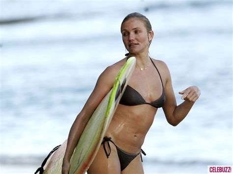Slater Chooses Mystery Model Cameron Diaz by Cameron Diaz Surfing Womens Surfing