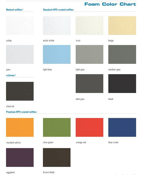 color chart ivory color chart www pixshark images galleries