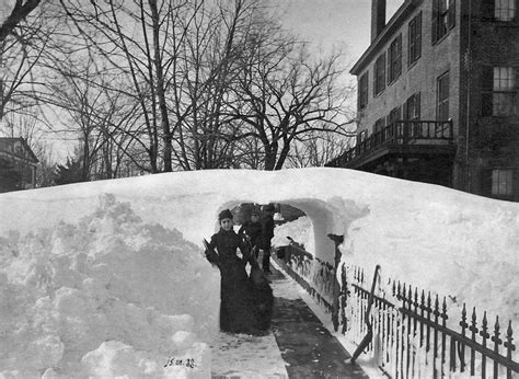 worst blizzard on this day in 1888 america experienced one of its worst