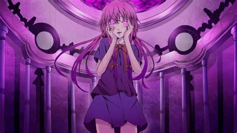 wallpaper anime yuno mirai nikki wallpapers wallpaper cave