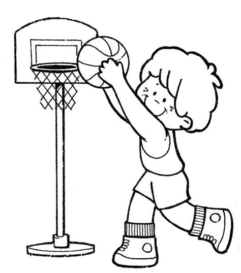 funny basketball coloring pages 97 coloring page of boy playing basketball boy