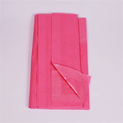 pink paper table cover lulubel