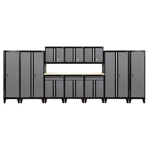 sandusky welded steel storage sandusky 79 in h x 228 in w x 18 in d modular garage