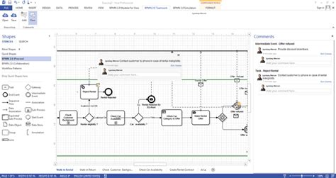 bpmn in visio bpmn visio add in 5 0 0 create more than just