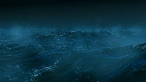 dark night  stormy sea motion background storyblocks
