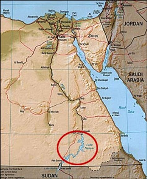 middle east map lake nasser the temple in the usa mysteries of history