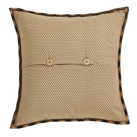 Quilted Pillow Covers by Coal Creek Quilted Pillow Cover 16 Inch The Patch