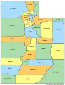 Utah County Parcel Map by Utah Counties Map