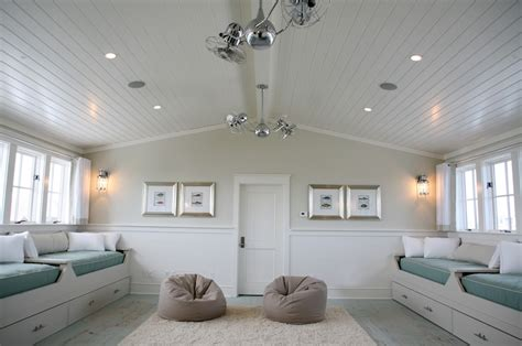 Wainscoting Ceiling Ideas Room Ideas Cottage Boy S Room Grace Interiors