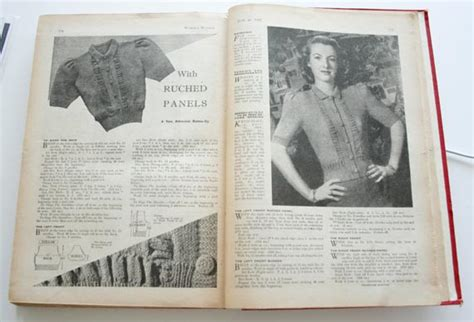 weekly knitting patterns s weekly vintage knitting patterns crochet and knit
