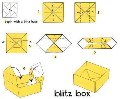 Origami Box Simple - i these they re actually useful i like to