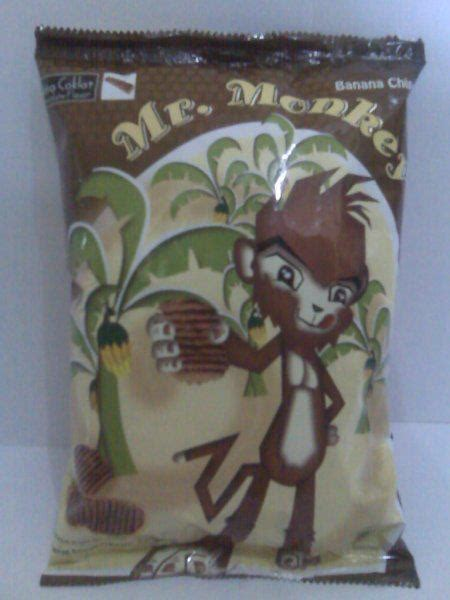 Mr Monkey Stroberi 140 Gr mr monkey banana chips home