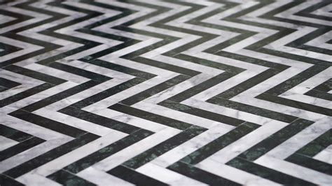 zigzag brick pattern zigzag black and white marble floor pattern stone stock