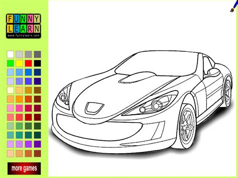 car coloring pages games cars colouring pages games coloring pages play free