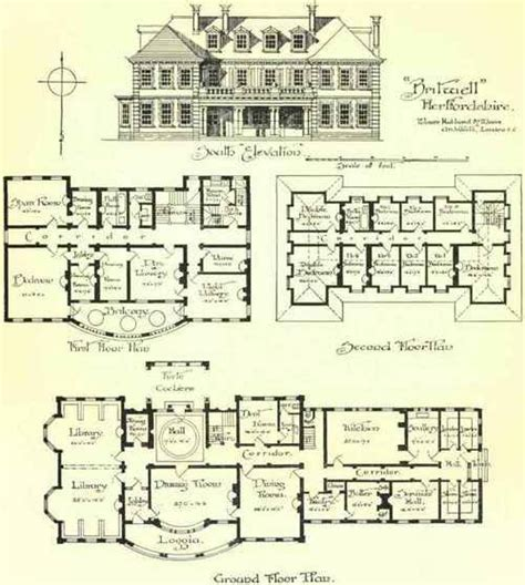 Large Country House Plans by Large Country Houses 80 1800 Country