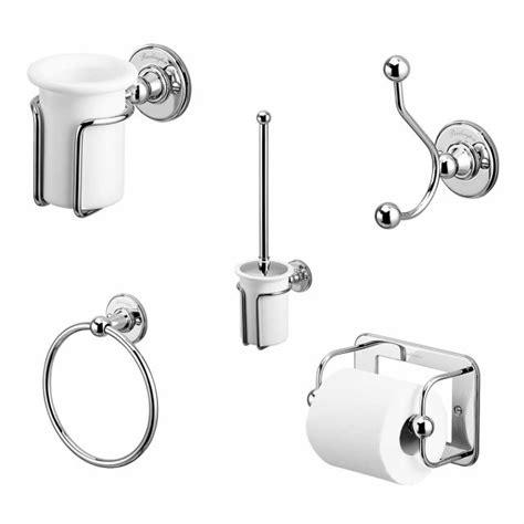 burlington bathroom accessories burlington classic 5 piece accessory set uk bathrooms