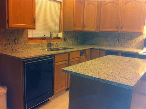 giallo ornamental granite with backsplash giallo ornamental granite kitchen with granite