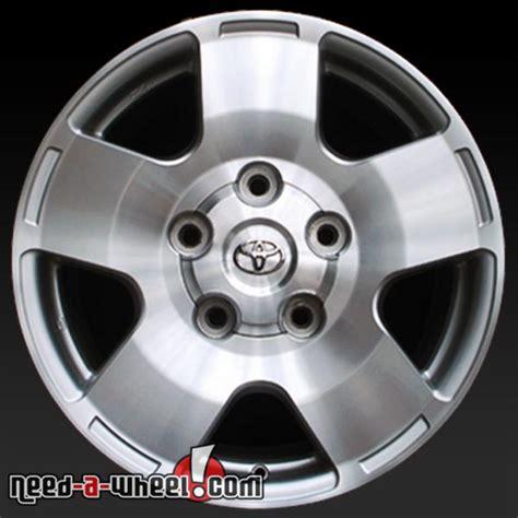 Oem Toyota Wheels 18 Quot Toyota Tundra Wheels Oem 2007 13 Machined Rims 69516