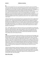 Unit 6 BTEC Health and Social care Level 3 bundle (P6 M1
