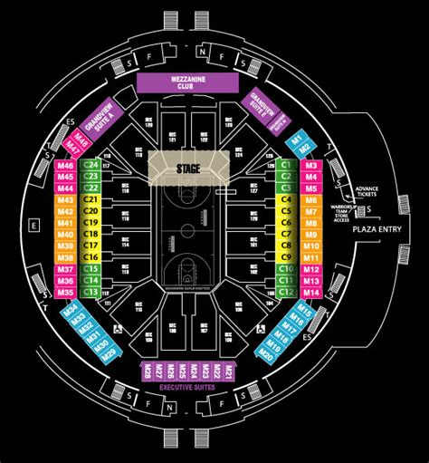 golden state warriors stadium seating chart 3d warriors seating images