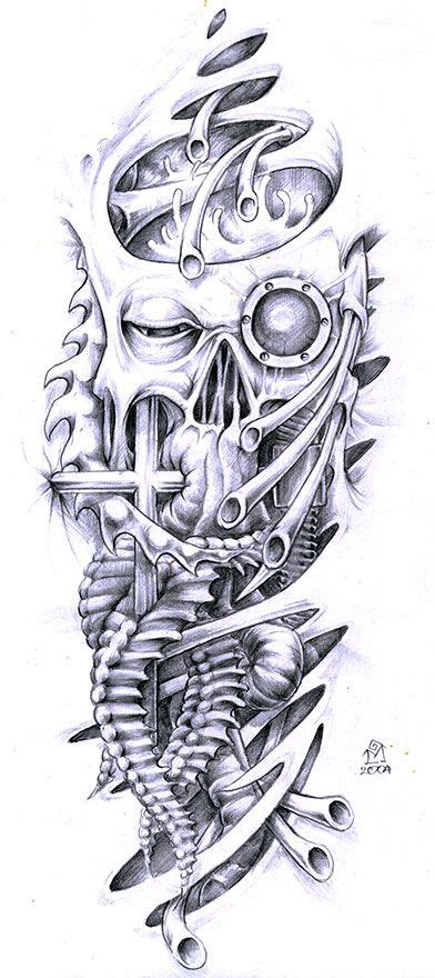 biomechanical and skull designs ideas