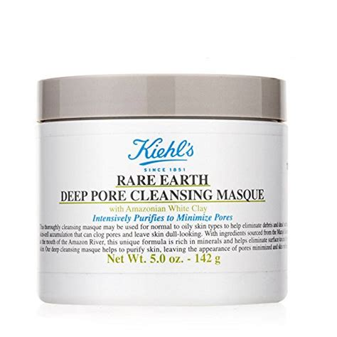 Masker Kiehl S kiehl s earth pore cleansing masque laboutike