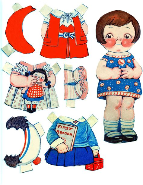 Paper Doll - fantastic find 10 printable paper dolls