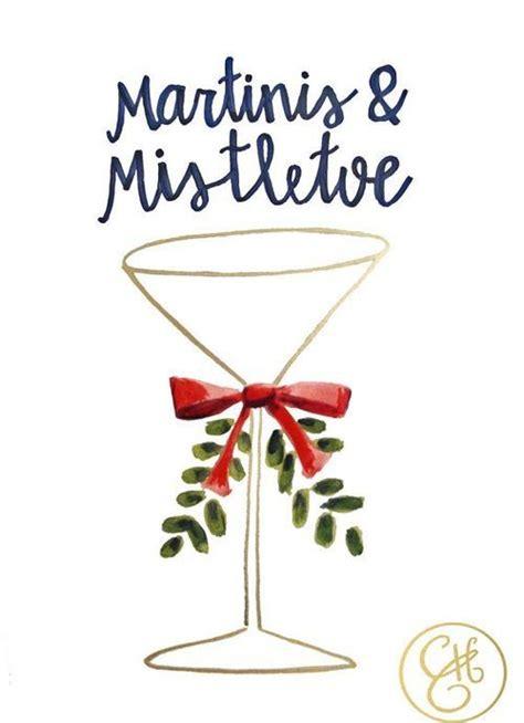 martini mistletoe martini s and mistletoe color