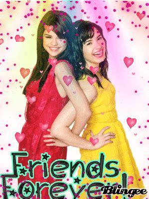 selena gomez and demi lovato best friends forever demi lovato selena gomez best friends forever picture