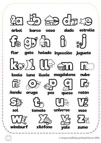 imagenes para colorear y aprender a leer abecedario con im 225 genes para imprimir