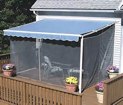 retractable awning retractable awning with screen