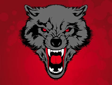 free red wolf cliparts download free clip art free clip