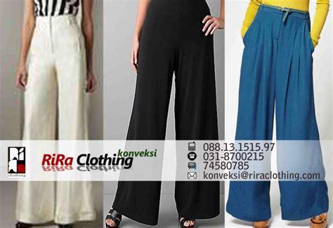 Jahit Celana Kerja celana palazzo untuk busana kerja rira clothing