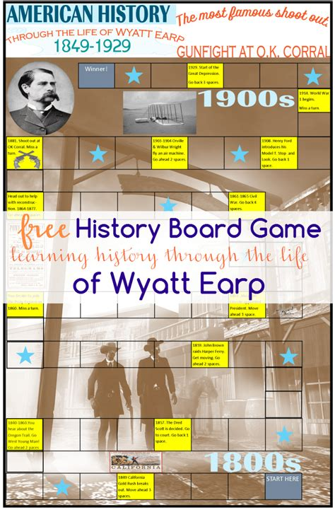 printable history board games history board game american history through the life of