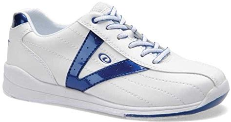 sporting goods bowling shoes bowling shoes white blue 8 sporting goods