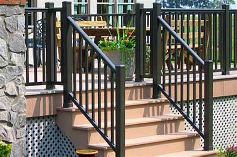 railings  outdoor stairs  home depot rickyhil