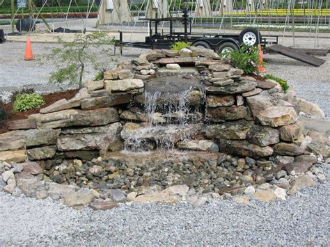 waterfall kits for backyard backyard waterfall kits home depot outdoor furniture design and ideas
