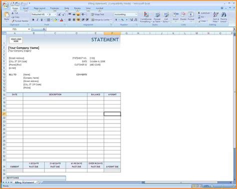 7 how to make invoice bill in excel simple bill