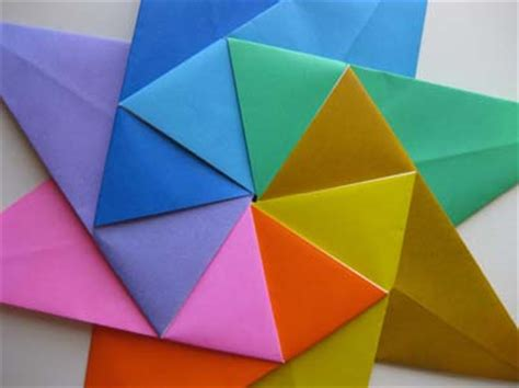 Eight Pointed Origami - origami origami modular 8 pointed