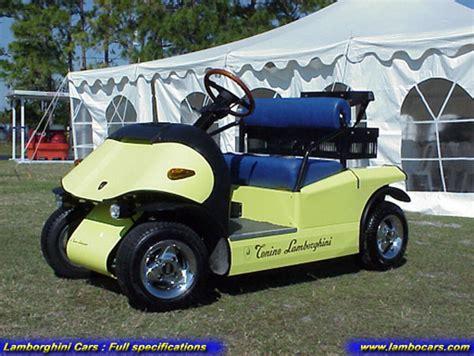 Lamborghini Golf Cart The Gallery For Gt Lamborghini Golf Cart
