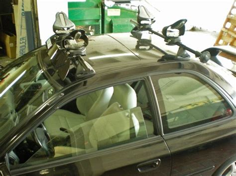 How To Lock A Kayak To A Roof Rack by Subaru Impreza 4dr Rack Installation Photos