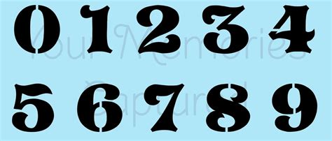 The Gallery For Gt Racing Number Fonts 7 Race Number Template