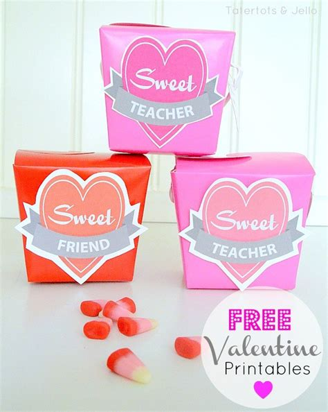 valentines gift for friends free printables