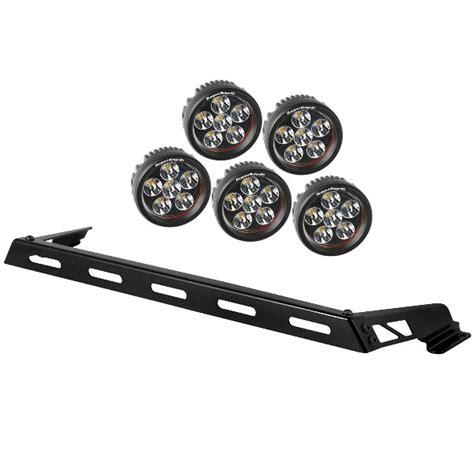 Jeep Tj Led Light Bar Light Bar Kit 5 Led Lights 07 17 Jeep