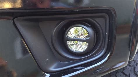 2013 Toyota Tacoma Led Fog Lights by How To Toyota Tacoma 6k Led Fog Light Install Review 2012
