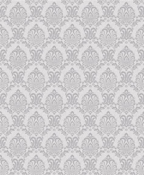 grey wallpaper houzz kiera pretty damask wallpaper grey offwhite