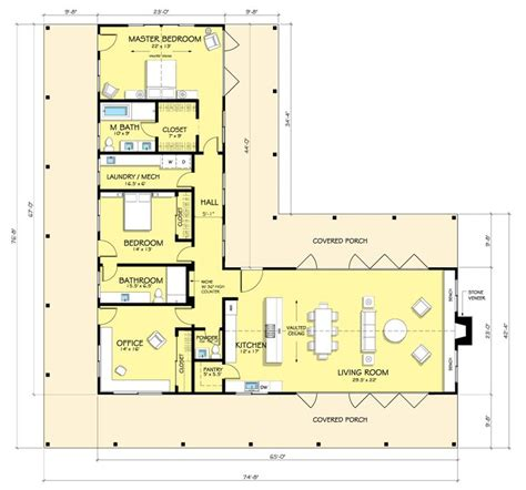facebook open floor plan 25 best ideas about l shaped house plans on pinterest l