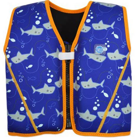 zwemvest splash about 11 18 kg splash about go splash float jacket shark orange
