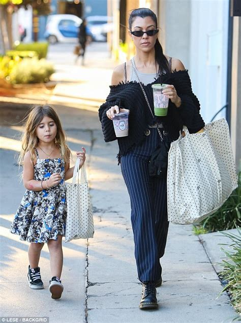 Qa With Penelope by Kourtney Steps Out With Penelope
